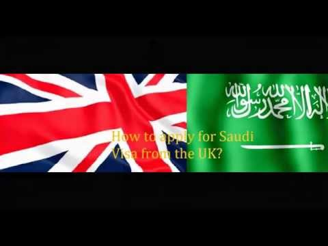 How to apply for Saudi visa from UK