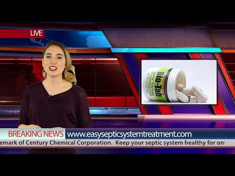 Bio-Tab affordable septic tank system maintenance treatment - enzymes for septic tanks