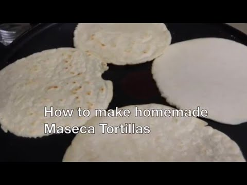 How to make Maseca Corn Tortillas! HOME MADE For tacos and much more!