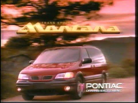 1997 Pontiac Montana mini-van commercial