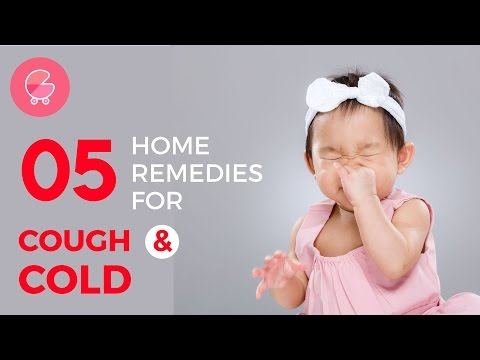 5 Proven & Most effective Home Remedies for cough & cold in babies