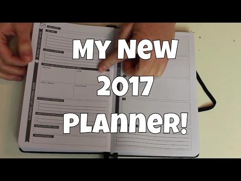 My New 2017 Planner!