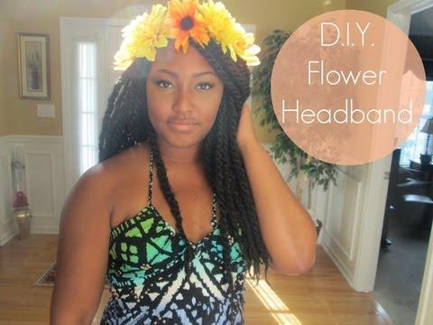 DIY | Flower Headband Tutorial