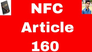 National finance commission Article 160 of conatitution of pakistan 1973 in urdu