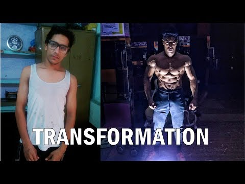 Rohit Khatri | 4 Year Body Transformation (18-22) | Skinny to Aesthetic transformation