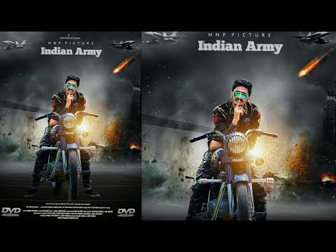 How to make action movie poster like Photoshop | Picsart Editing Tutorial
