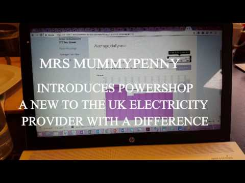 Powershop - A New Electricity provider in the UK #ad