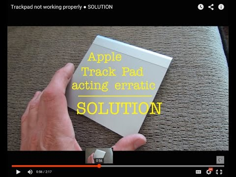 Mac Apple Trackpad Glitchy not working properly  ●  SOLUTION