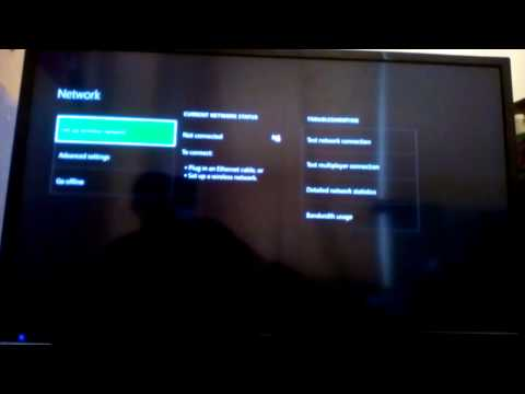 How to set up a wireless network on xbox one