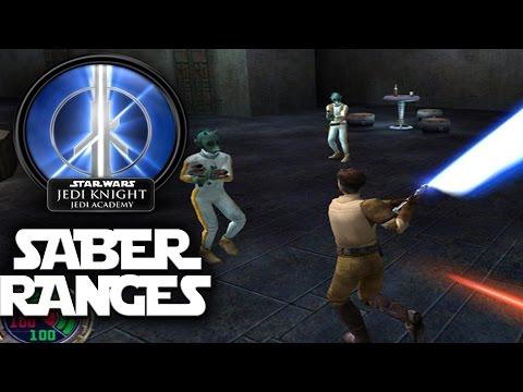 Star Wars Jedi Academy - Saber Styles & Ranges Tutorial [Dash Star]