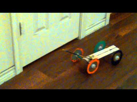 CD mouse trap car project
