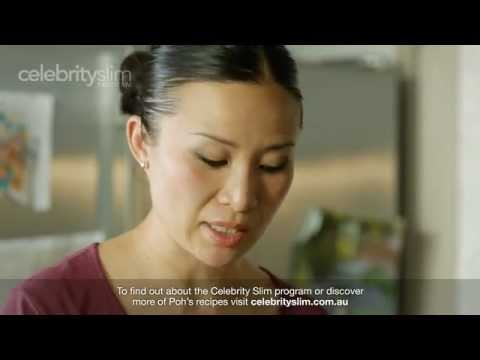How to make Chinese Chicken, Mushroom & Egg Noodle Soup with Poh - Celebrity Slim