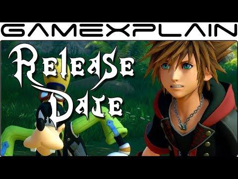 Kingdom Hearts III Release Date Announced