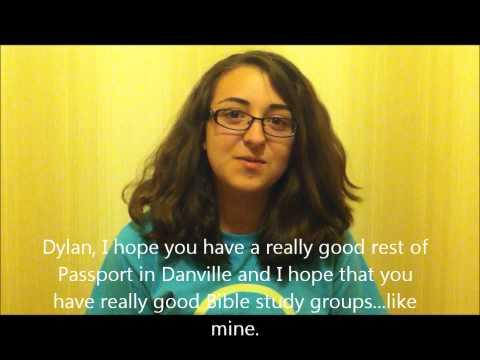 Passport Thank You Video