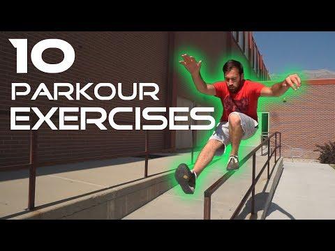 10 BEGINNER PARKOUR EXERCISES | Practical Fitness