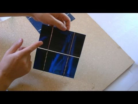 How to make a Solar Panel - First Step: Solar Cell