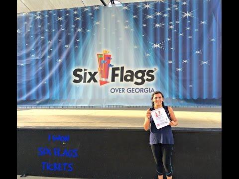 I Won Six Flags Tickets