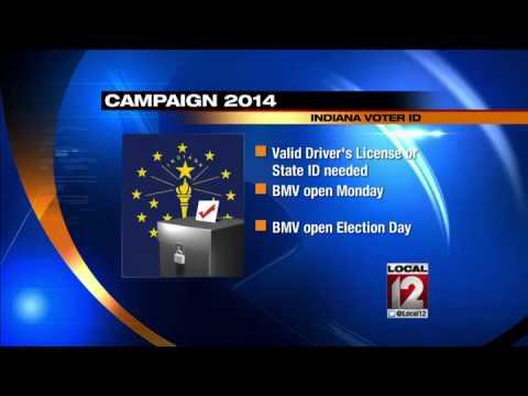 Indiana voters ID needed