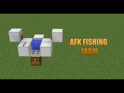 Minecraft AFK Fishing Farm Tutorial // Simple // Compact // 1.9 - 1.10