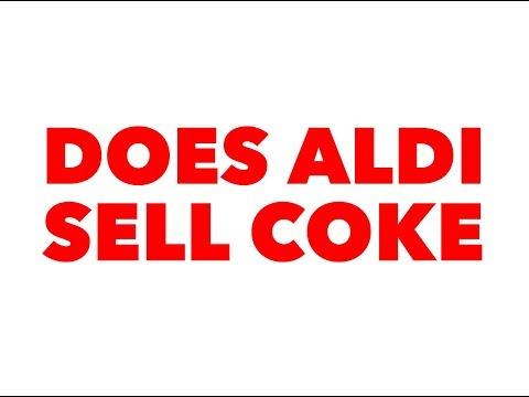 Does Aldi sell coke name brand soda