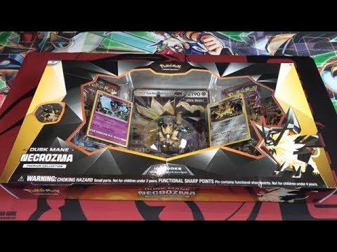 Pokémon TCG Dusk Mane Necrozma Premium Collection Opening