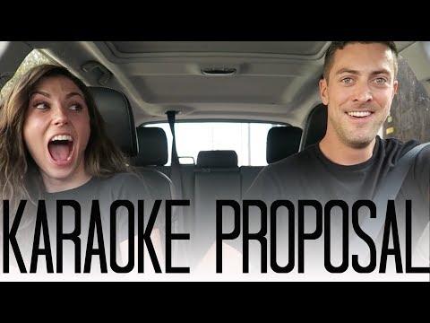 SURPRISE Carpool Karaoke Proposal!