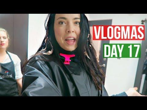 MY NEW HAIR! VLOGMAS DAY 17