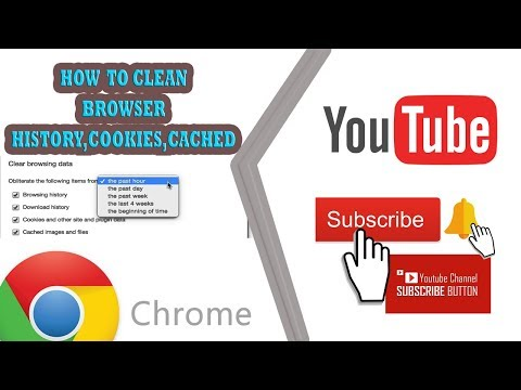 CLEAN YOUR BROWSER DATA,CACHE,HISTORY,COOKIES