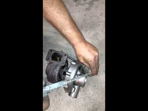 Home made built-in quick spool valve turbo