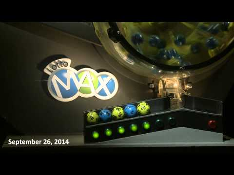 Lotto Max Draw, September 26, 2014