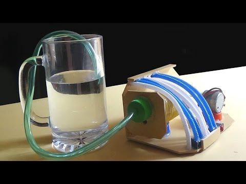 Air Pump - How To Make An Air Pump For Aquarium Using Plastic Bottle  
