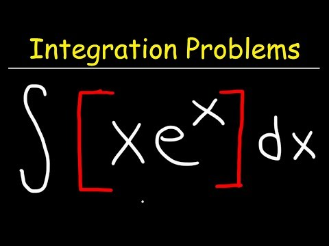 Integral of xe^x