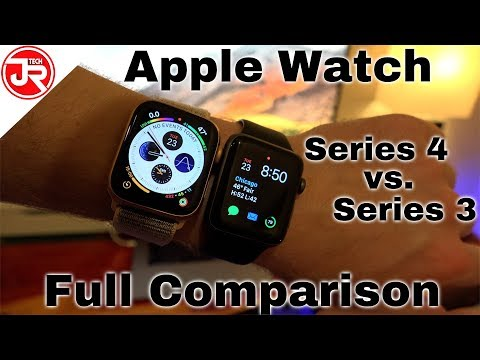 Apple Watch Series 4 vs 3 - Full Comparison & Review!