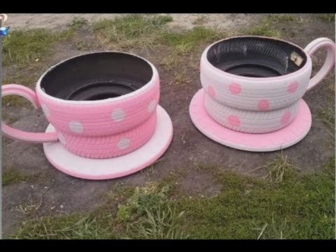 TOP 10 Brilliant Ways To Reuse And Recycle Old Tires