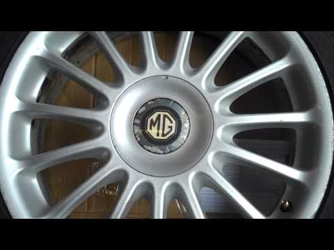 MG SET OF 4 ALLOY WHEELS WITH TYRES - 4 X 100 - 205/45R17