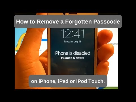 How to Remove Forgotten Passcode on iPhone, iPad or iPod Touch