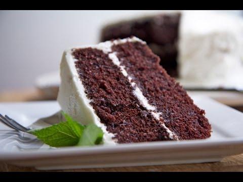 Homemade Devils Food Cake Recipe (Hubby's fav!)
