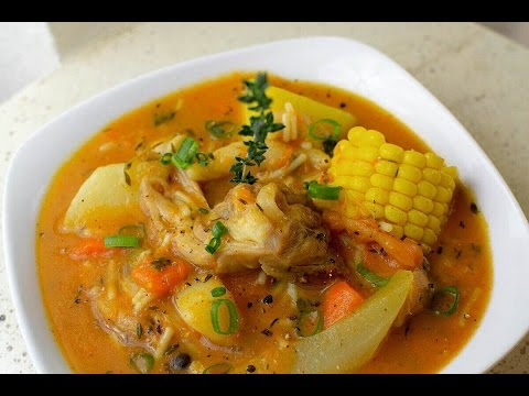 Caribbean Chicken Pumpkin Soup
