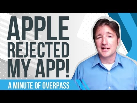 Apple Rejected My App!  A Minute of Overpass: The App Developers in England