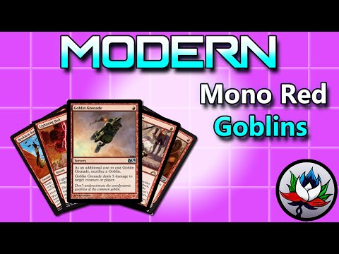 Aggressive Mono Red Goblins Modern Deck Tech for Magic: The Gathering – MTG!