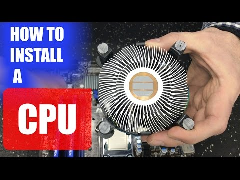 How to install a CPU into a motherboard (quick and easy)