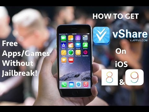 iOS 9: Get PAID Apps/Games FREE (NO JAILBREAK) on ANY iPhone, iPad, & iPod Touch With VShare