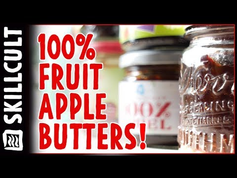 Incredible Flavor, 100% FRUIT, Apple Butter and Apple Stroop, Dutch Apple Jelly