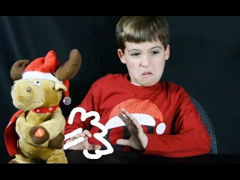 Armpit Farting Christmas Reindeer