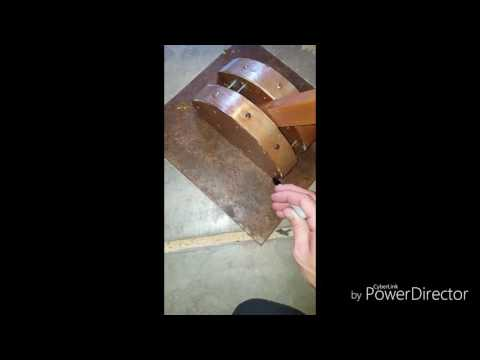 How to build a mechanical lever for a movie prop
