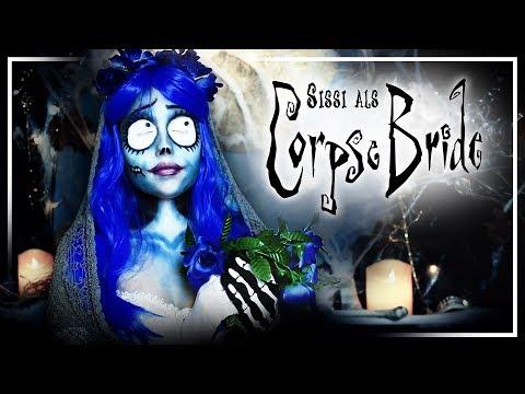 """Tim Burton MAKEUP TUTORIAL – Emily """"the Corpse Bride"""" #TypischSissi"""