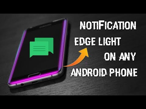 Get New Notification Edge Light in any Android Device (No Root)