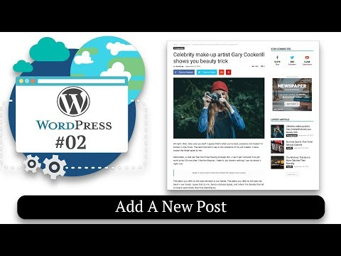 How To Add A New Post | Static Front Page | How to Make a Website #02