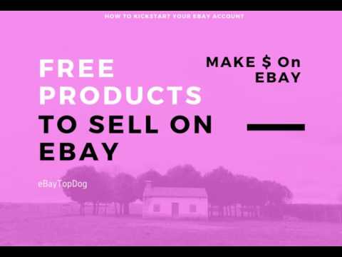 Get Free Inventory To Sell On eBay - No Gimmick