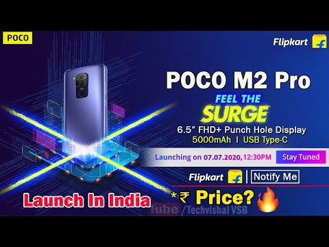 Poco M2 Pro Launch on 7th July Officially | Price, Specifications, 48MP Camera | Poco M2 Pro Price